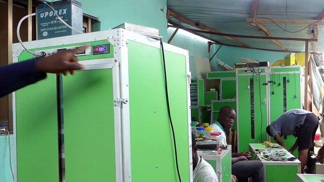 TOGO- Découvrez la couveuse automatique à gaz et à panneau solaire