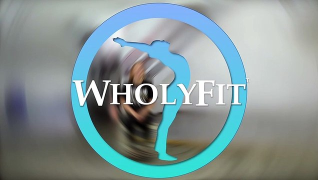 WholyFit Psalm 91 Chair Stretching #3