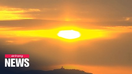 Sun rises on New Year's Day; but tourist spots closed, bell-ringing ceremony canceled