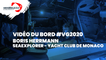 Vidéo du bord - Boris HERRMANN | SEAEXPLORER - YACHT CLUB DE MONACO - 01.01