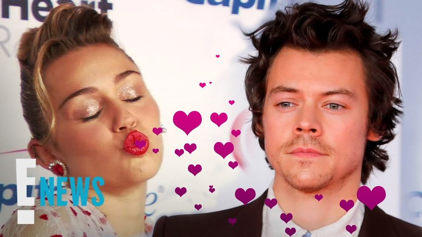 Miley Cyrus Shoots Her Shot With Harry Styles