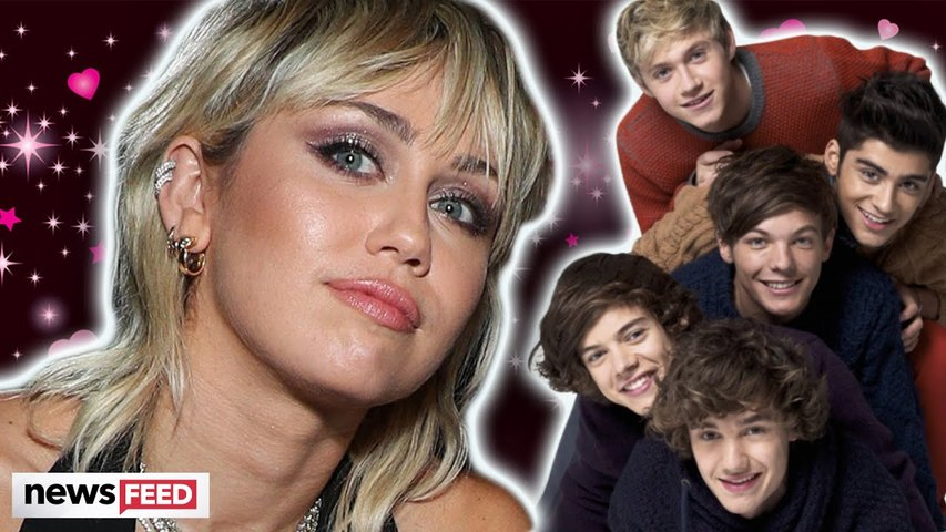 Miley Cyrus Is CRUSHING On This One Direction Member!