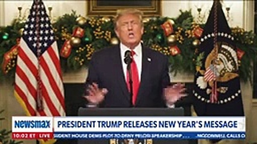 President Trump addresses the nation on NYE 2020