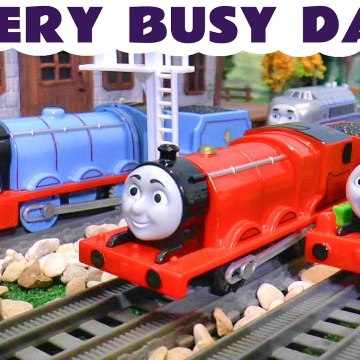 A Very Busy day for Thomas and Friends and the Funny Funlings in this Family Friendly Full Episode English Toy Story Toy Trains Video for Kids from Kid Friendly Family Channel Toy Trains 4U