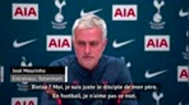 """17ème j. - Mourinho : """"Bielsa ? Moi, je suis juste le disciple de mon père"""""""