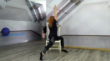 WholyFit Psalm 91 Chair Stretching #4