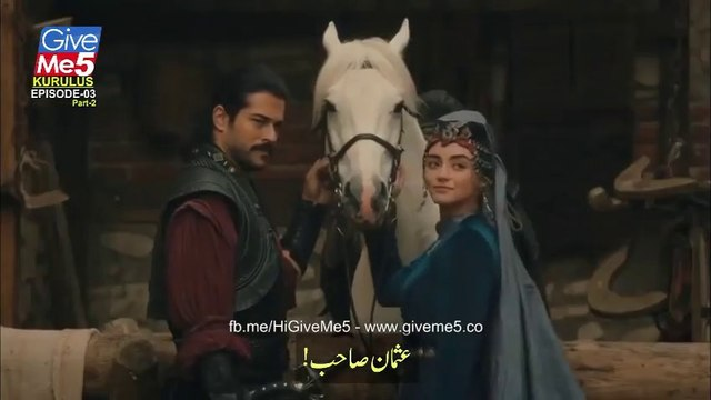 Kurulus Osman Season 1 - Episode 3 with Urdu Subtitles PART 2