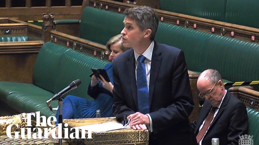 Gavin Williamson sets out plans for pupils' return to schools, colleges and universities in England