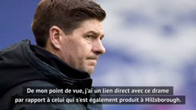 """Ecosse - Gerrard : """"Les fans doivent rester à l'écart malgré l'hommage"""""""