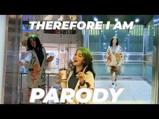 AVM'DE BİR GECE! - Billie Eilish - Therefore I Am (Parody)
