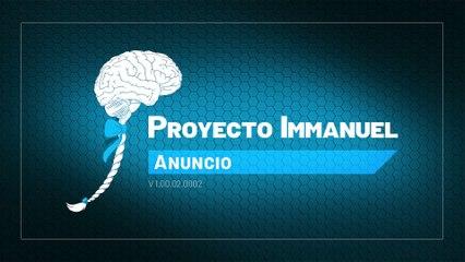 Proyecto Immanuel - Anuncio
