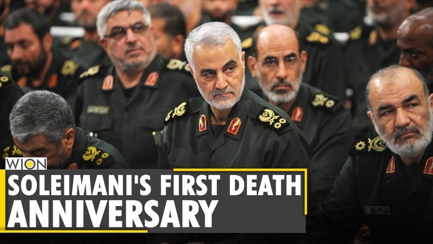 Demonstrations held across Iran & Iraq on Soleimani's first death anniversary