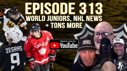 FULL VIDEO: Spittin' Chiclets 313 - World Juniors, NHL News, & TONS More