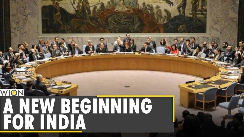 India begins 8th term as non-permanent member of UNSC