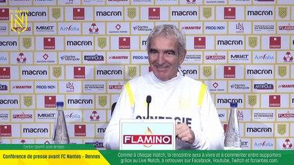 REPLAY   Conférence de presse avant FC Nantes - Stade Rennais