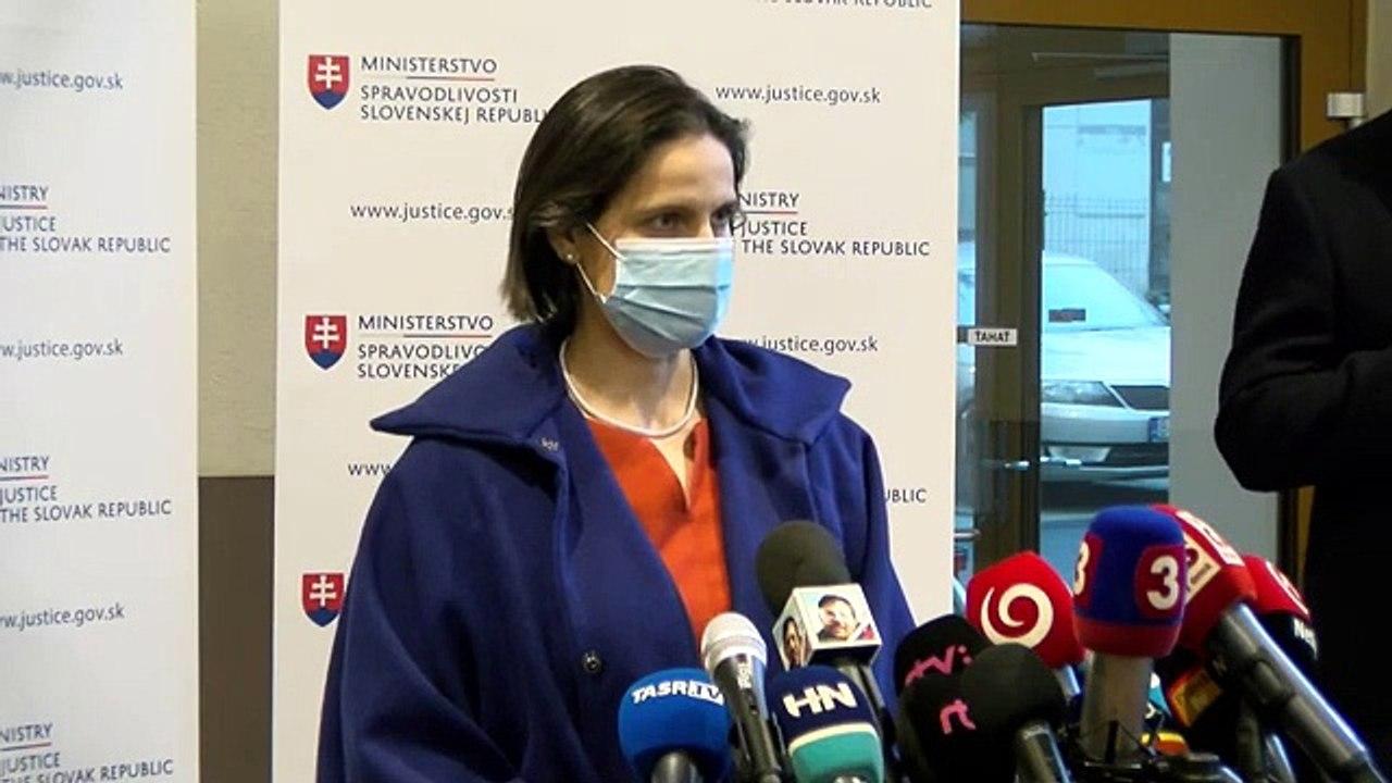 ZÁZNAM: TK ministerky spravodlivosti SR Márie Kolíkovej