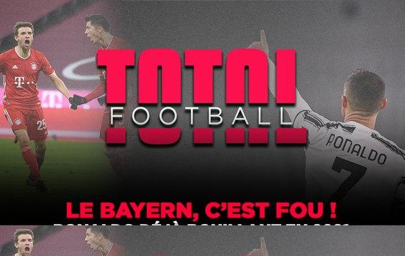 Total Football : CR7 bouillant, le Bayern renversant