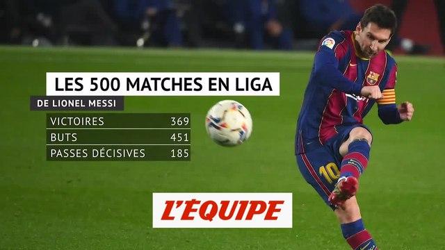 Messi, encore un peu plus dans la légende - Foot - ESP - Barça