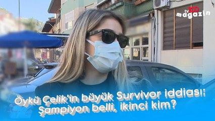 Öykü Çelik'in büyük Survivor iddiası:  Şampiyon belli, ikinci kim!