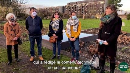 Gîtes à abeilles sauvages : un projet du budget participatif de Bordeaux
