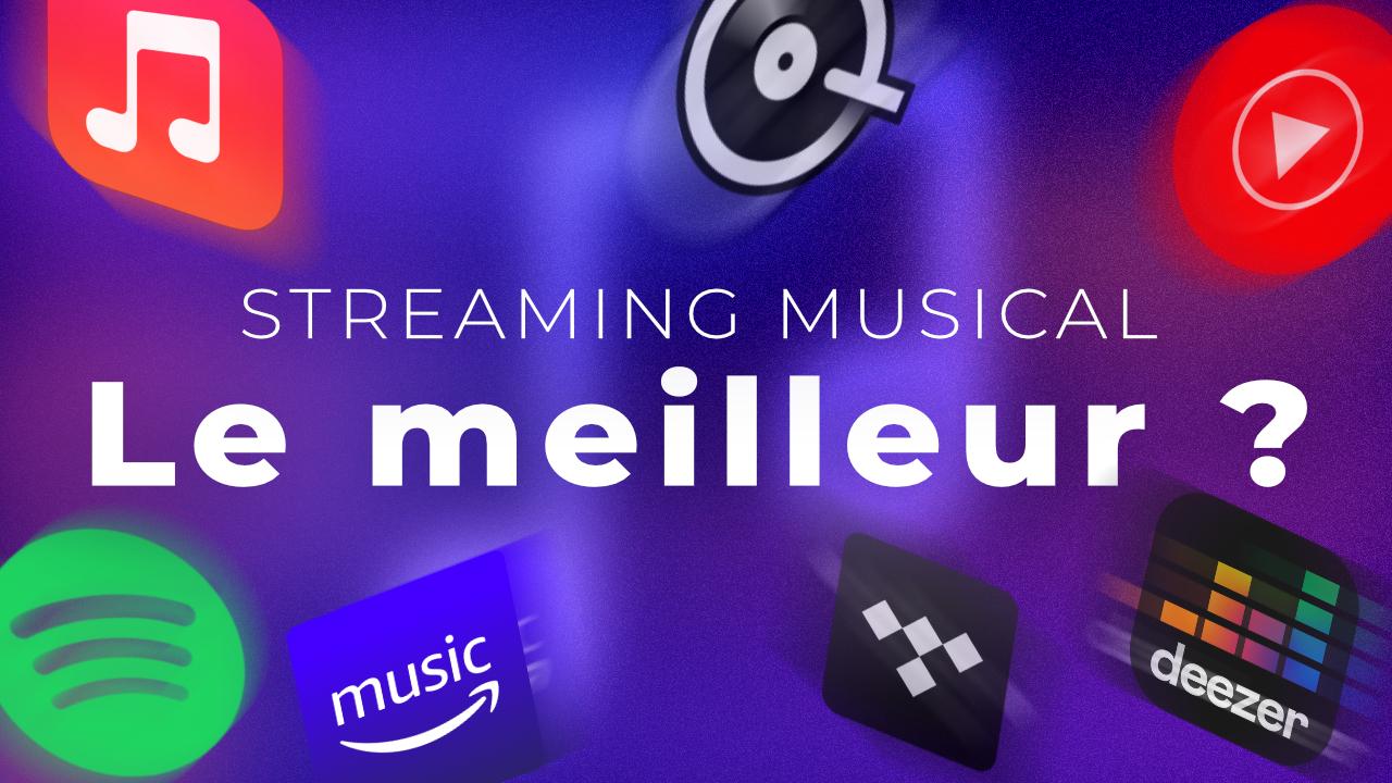 Spotify, Deezer, Apple Music, YouTube Music… : quel est le meilleur service de streaming de musique ?