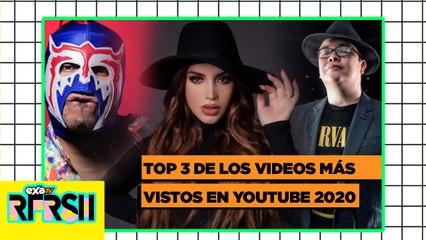 EL Escorpión, Kimberly y Franco Escamilla en el Top 3 de los videos más vistos  en el 2020 / EXA TV