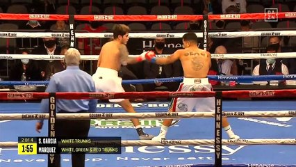 Sean Garcia vs Rene Marquez (02-01-2021) Full Fight