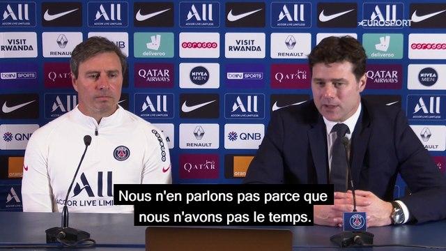 """Pochettino : """"Messi ? Tous les meilleurs joueurs du monde sont les bienvenus à Paris"""""""