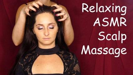 ASMR Hair Brushing, Scalp Massage & Whispers for Sleep ♥ My 4 Favorite Hair Brushes, Ultra Close!