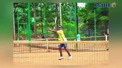Urugendo rwa Hakizumwami, umwana ufite intego zo kuba igihangange muri Tennis ku Isi