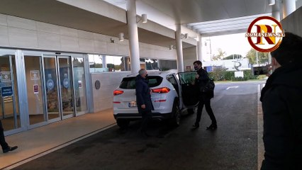 Roma, la partenza di Fonseca per Crotone (6/1/2021)