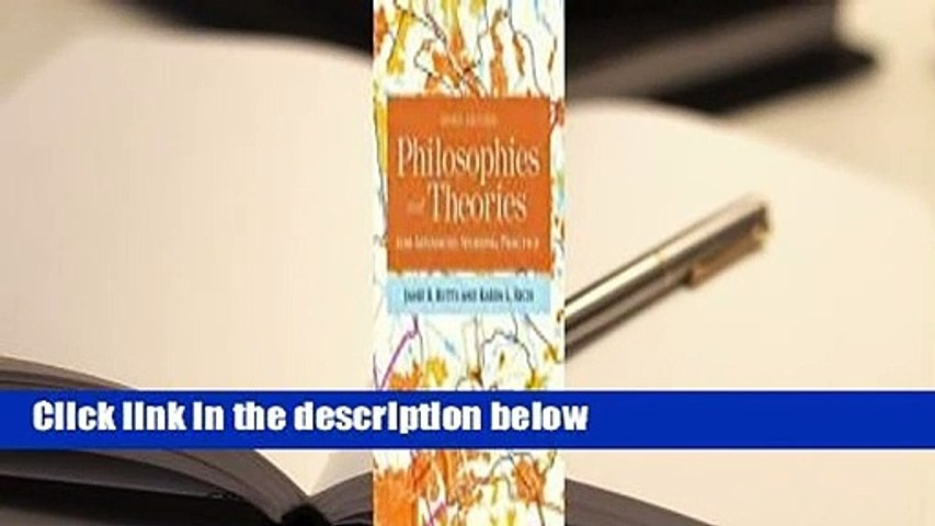 About For Books  Philosophies and Theories for Advanced Nursing Practice  Review
