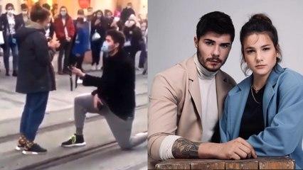 Barış Murat Yağcı'dan Nisa Bölükbaşı'na Evlilik Teklifi