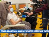 À la UNE : les Verts affrontent le PSG pour son premier match de 2021 / La première vaccination contre la COVID dans la Loire / Chalmazel ne rouvrira pas demain / Les livreurs UBER Eats en colère. - Le JT - TL7, Télévision loire 7