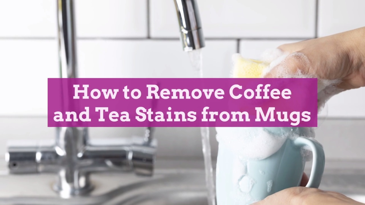 How to Remove Coffee and Tea Stains from Mugs