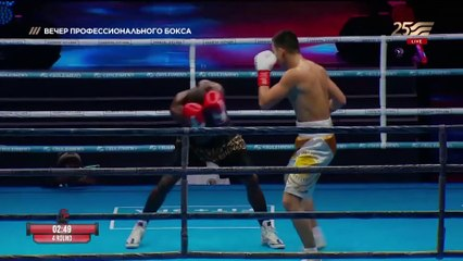 Bek Nurmaganbet vs Emmanuel Danso (16-12-2020) Full Fight
