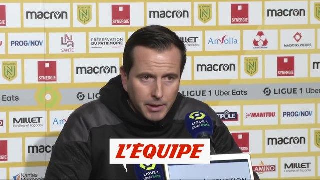 Stéphan : «On était venus prendre plus de points que ça» - Foot - L1 - Rennes