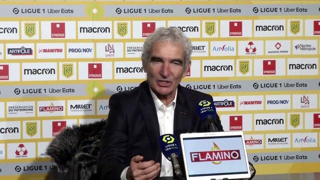 Domenech : «J'ai le sentiment qu'on a mis la première pierre» - Foot - L1 - Nantes