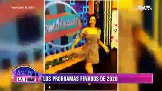 Los programas que desaparecieron del aire este 2020