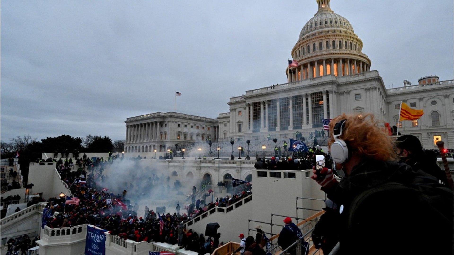 Violent Pro-Trump Rioters Storm US Capitol