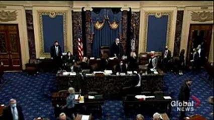 US election- Sen. Chuck Grassley pulled from Senate chamber, House in recess