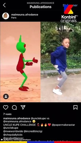 Maïmouna elle a 12 ans et elle danse beaucoup mieux que toi