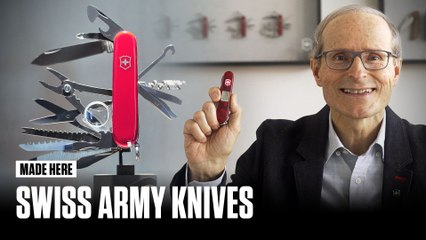 Made Here: How Swiss Army Knives Are Made