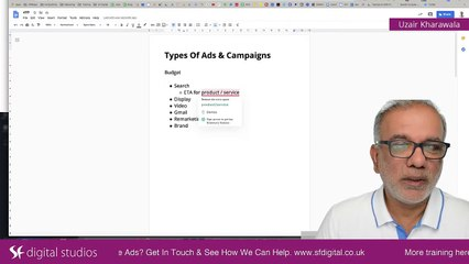 Types of Google Ads Campaign | How Many Types Of Ads In Google AdWords