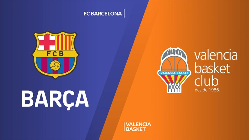 FC Barcelona - Valencia Basket Highlights | Turkish Airlines EuroLeague, RS Round 18