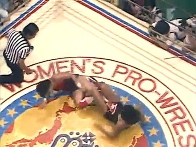 (8/22/85) IWA/All Pacific title: Chigusa Nagayo vs Devil Masami (c)