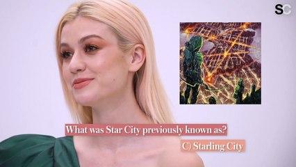 """Kat McNamara Plays """"Arrow"""" Trivia"""