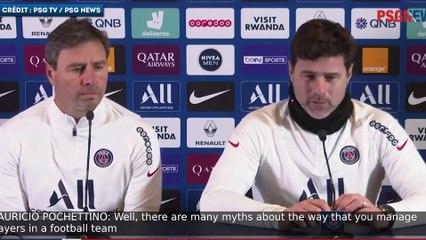 Mauricio Pochettino juge les progrs de son Paris SG et de Kylian Mbapp