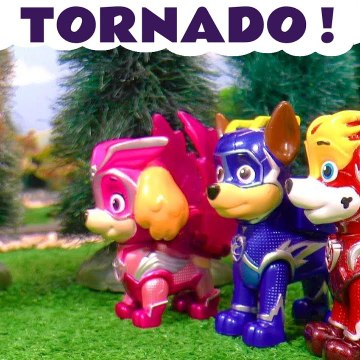 Fire Tornado Rescue with the Paw Patrol Mighty Pups Charged Up and Thomas and Friends plus the Funny Funlings in this Family Friendly Full Episode English Toy Story Video for Kids from Family Channel Toy Trains 4U