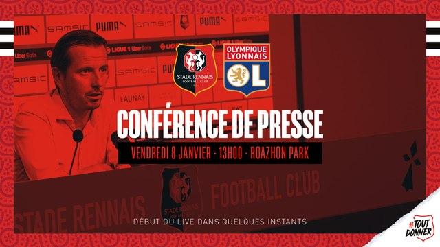 J19. #SRFCOL - Conférence de presse d'avant-match en direct du Roazhon Park